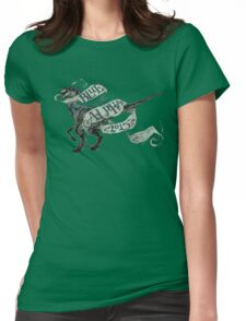 Coey: Blue for Alpha, Jurassic World Womens Fitted T-Shirt