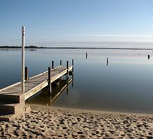 Still Waters - Lake Bonney, Barmera, SA by Rosdenphoto