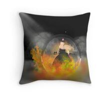 locked&loaded dressed to kill Throw Pillow