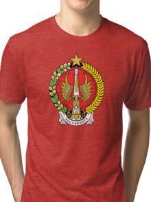 Coat of Arms of Yogyakarta Tri-blend T-Shirt