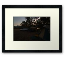 Late evening Framed Print