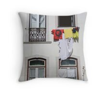 Windows on the world... Throw Pillow