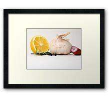 Still Life - Seasonings Framed Print