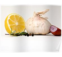 Still Life - Seasonings Poster