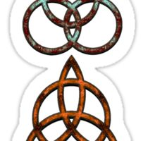 TRIQUETRA - V the storm, the sea, the soil, the earth Sticker