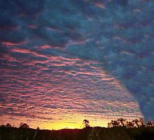 Martian sunset by tablelander