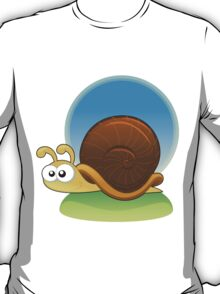 cartoon snail design t-shirt T-Shirt