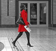The red coat by awefaul