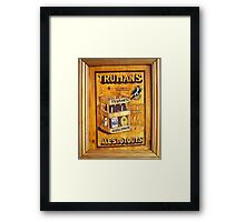 Truman's Ales and Stouts Framed Print