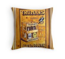 Truman's Ales and Stouts Throw Pillow