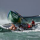 Lorne girls get run over by Rosebud - Surfboats by Andrew Mather