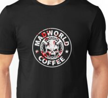 Madworld coffee (bloody) BLACK Unisex T-Shirt