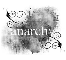 Anarchy 1 Photographic Print