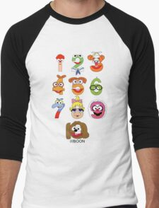 Muppet Babies Numbers Men's Baseball ¾ T-Shirt