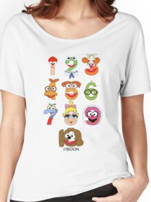 Muppet Babies Numbers Women's Relaxed Fit T-Shirt