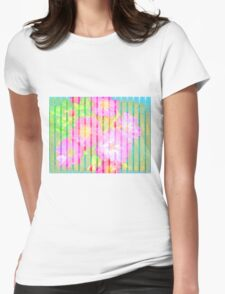 Flowers Flowers Womens Fitted T-Shirt