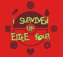 I Survived the Elite Four Baby Tee