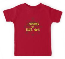I Survived the Elite Four Kids Tee