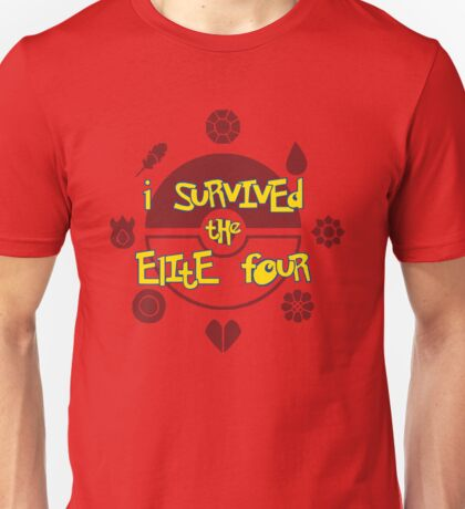 I Survived the Elite Four Unisex T-Shirt