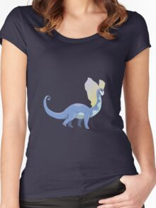 Stately Amaura Surveying the World Women's Fitted Scoop T-Shirt