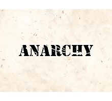 Anarchy 4  Photographic Print