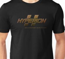 HYPERION: DIGI-STRUCTING YOUR FUTURE! (MANUFACTURER LINE) Unisex T-Shirt