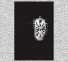 Salvador Dali Inspired Melting Clock Kids Tee