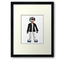 Retro Geek Chic - original Framed Print