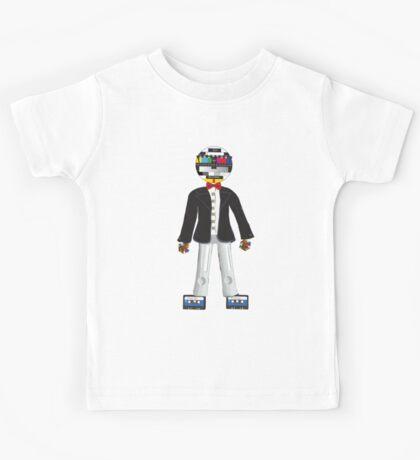 Retro Geek Chic - original Kids Tee
