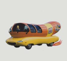 Wienermobile. by Matt Bob