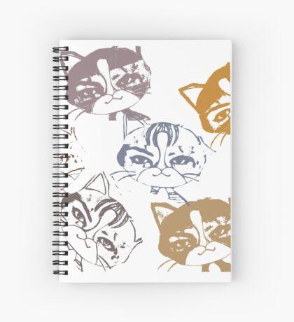 Several cats Spiral Notebook