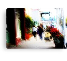 Downtown Daylesford Canvas Print