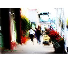 Downtown Daylesford Photographic Print