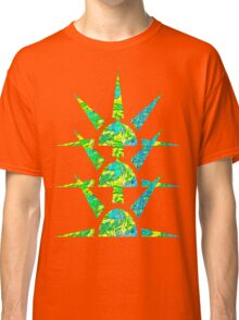 Suns in Green and Yellow Classic T-Shirt