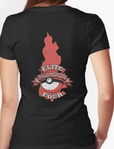 Elite Four Champion Flame Womens Fitted T-Shirt
