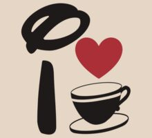 I Heart Tea Cups by ShopGirl91706