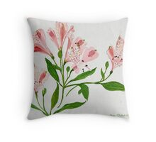 As Delicate as Flowers Can Be.. 1985 Throw Pillow