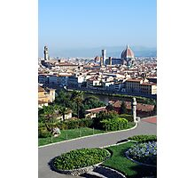 View of Florence Photographic Print