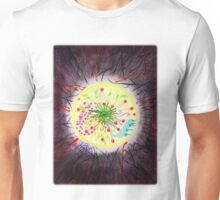 When the world around you is dark - find the light inside you Unisex T-Shirt