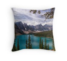 The Valley of the Ten Peaks Throw Pillow