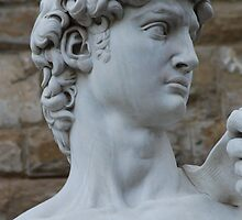 Michelangelo's David by Keith Sutherland