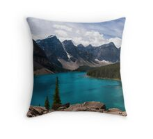 Sapphire Blue Throw Pillow