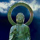 Bronze Buddha photo painting by randycdesign