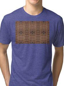 Deck timber motif Tri-blend T-Shirt