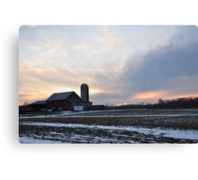 An Amazing Parker Sunset Canvas Print