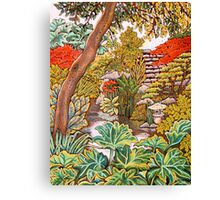 Dreams of Rhubarb Pie Canvas Print