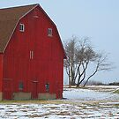 Red Barn by Jessica Snyder