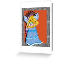 Baby Mama Angel~ Greeting Card