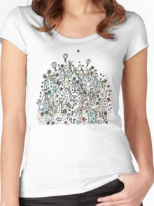 Flower City Women's Fitted Scoop T-Shirt