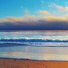 Shoreline photo painting by randycdesign